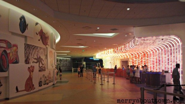 Art of Animation Lobby - Merry About Town
