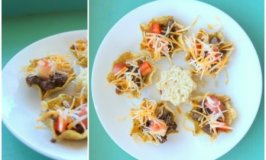 Easy Party Food: Tiny Taco Salads