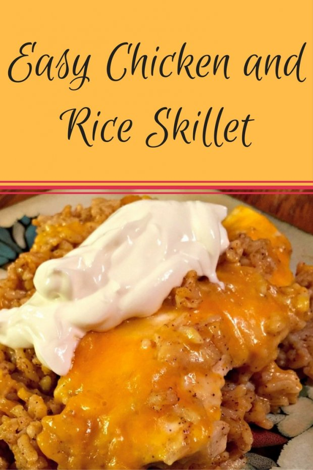 Easy Chicken and Rice Skillet
