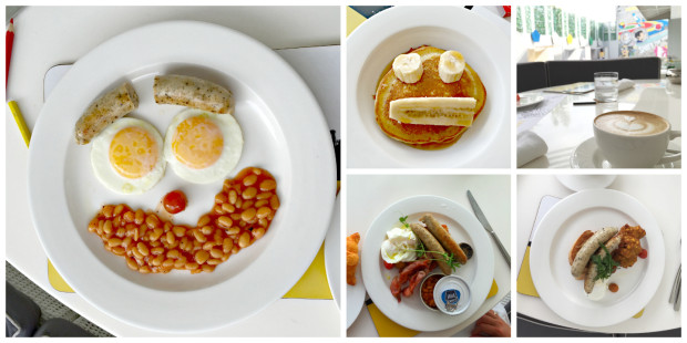 Fun and Delicious Breakfast at Luna2 Studiotel in Seminyak Bali