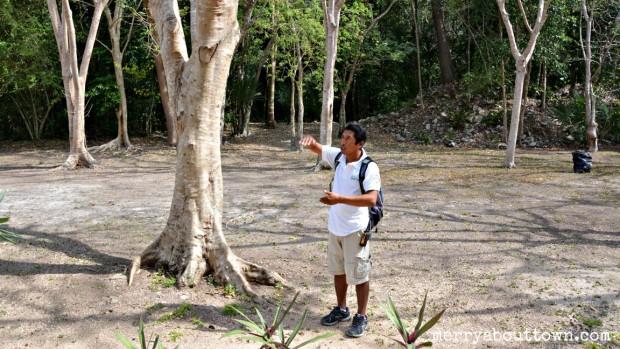 Learning about the Mayan way of life at Sian Ka'an