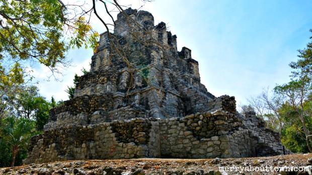 Mayan Ruins at Sian Ka'an