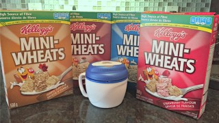 Try Kellogg's Mini-Wheats HOT! (with giveaway)