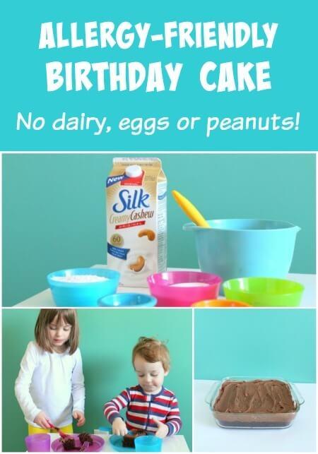 Allergy-Friendly Birthday Cake