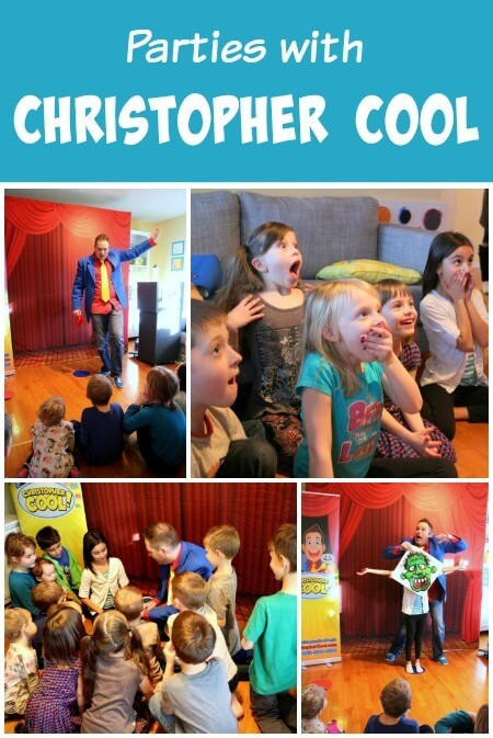 Real Party with Calgary Magician Christopher Cool!