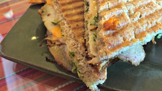 Gaucho Panini from Zucchini Blossom Cafe