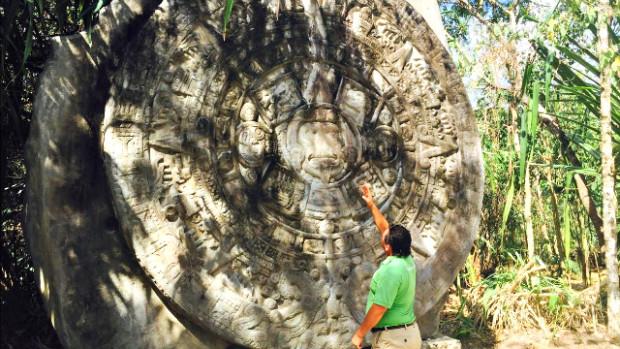Mayan and Aztec at Chankanaab