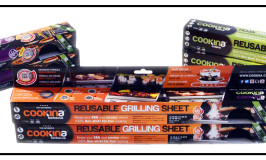 Cookina Reusable Grilling Sheet Giveaway #WhatsOnYourGrill