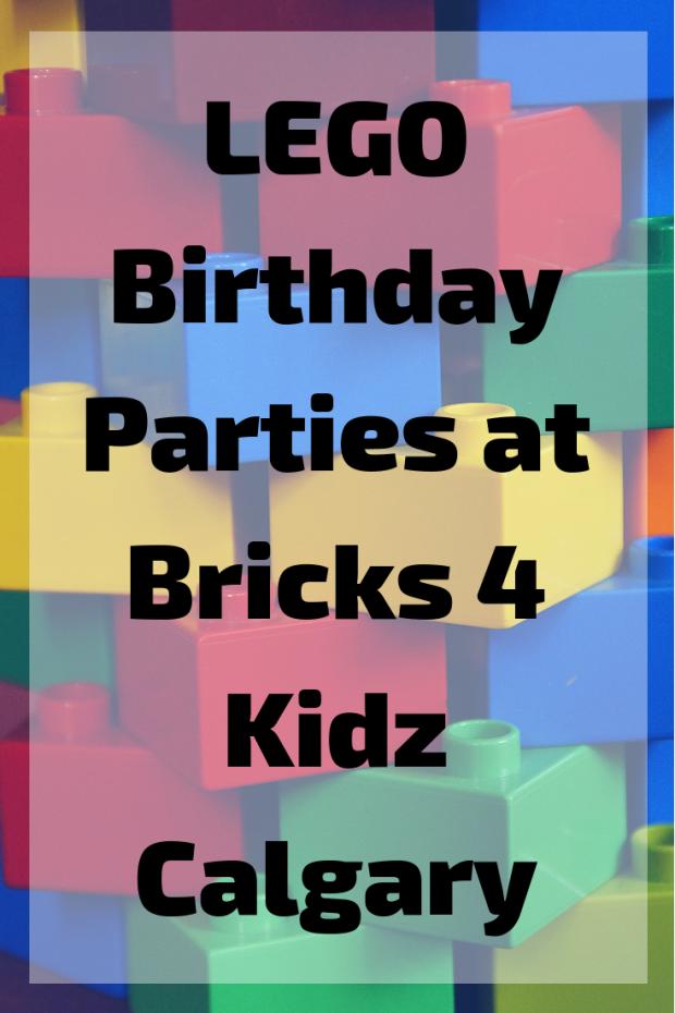 Lego Parties at Bricks 4 Kidz Calgary