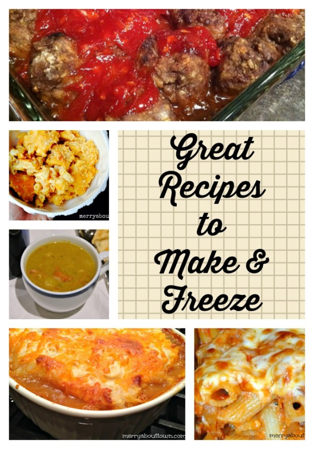Make and Freeze Recipes