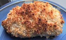Easy Crunchy Parmesan Ranch Baked Breaded Pork Chops