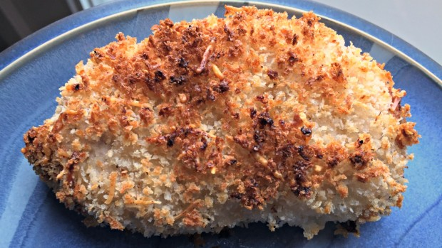 Easy Crunchy Parmesan Ranch Pork Chops - Merry About Town