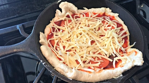Pizza in a Skillet