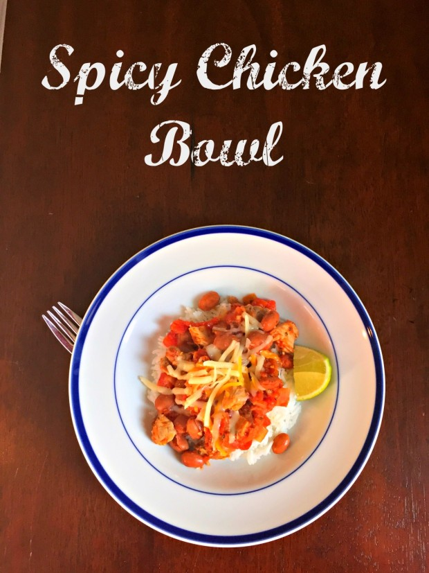 Spicy Chicken Bowl  - MerryAboutTown