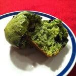 Spinach Blueberry Muffins