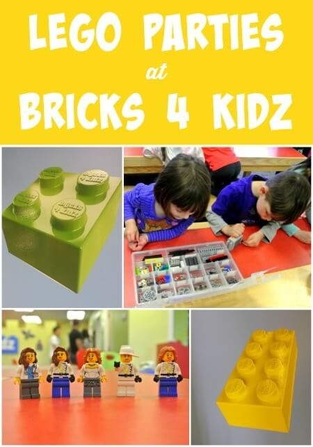 Lego Parties at Bricks 4 Kidz