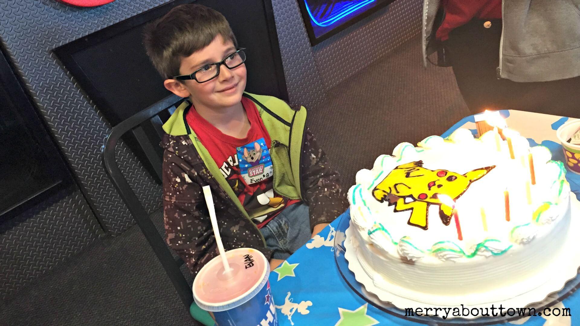 Birthday at Chuck E Cheese