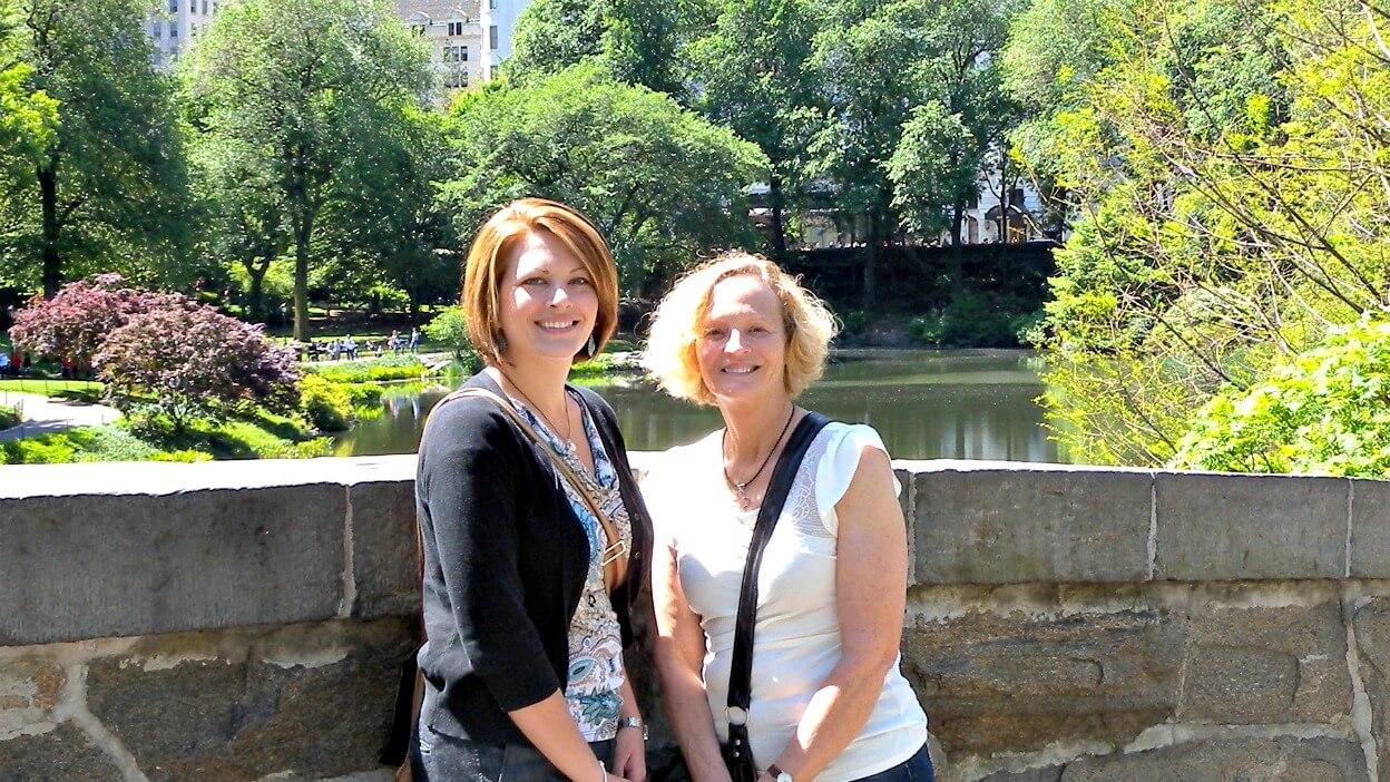Nana and I in Central Park