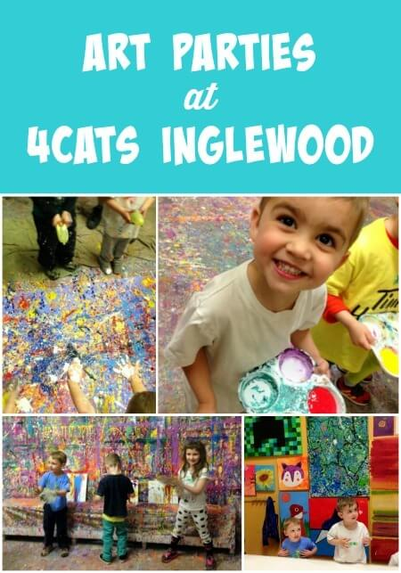 Art Parties at 4Cats Inglewood
