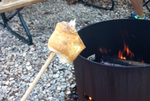 Roasted Marshmallows are the best!
