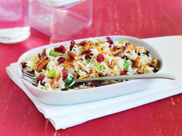 Cranberry Pecan Rice