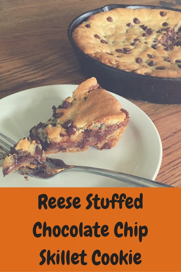 Deep Dish,Reese StuffedChocolate ChipSkillet