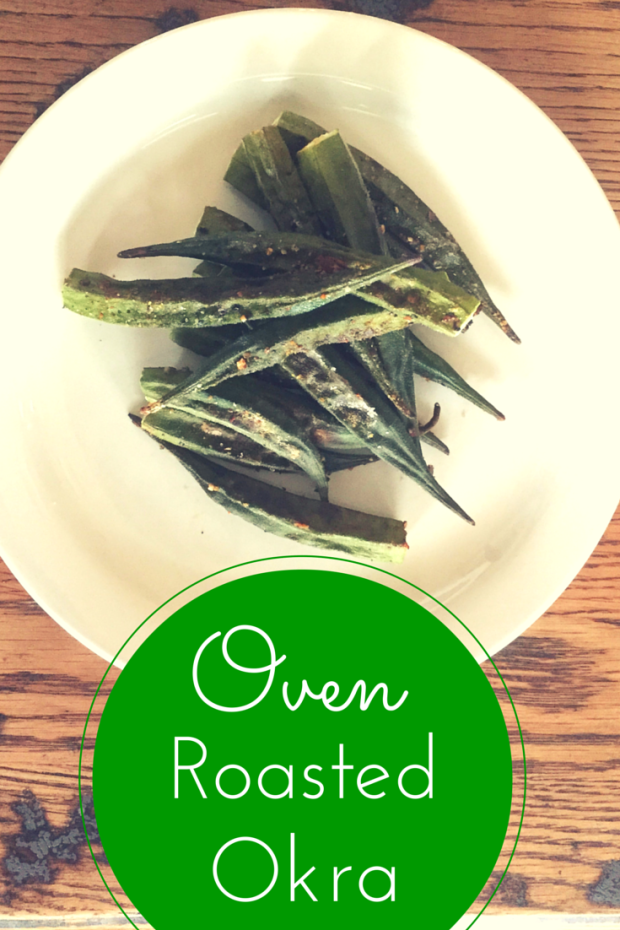 Oven Roasted Okra 2