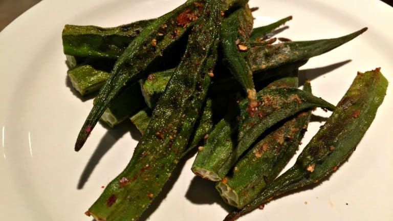Easy & Delicious Oven Roasted Okra