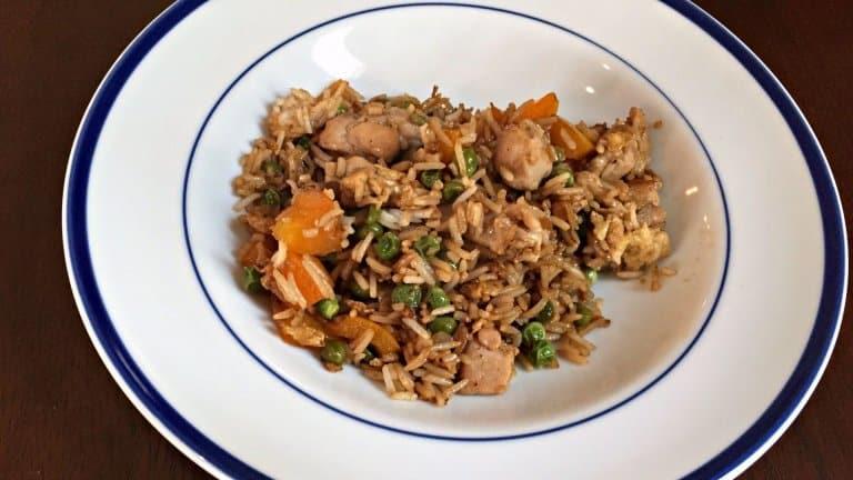 Easy Weeknight Chicken Fried Rice