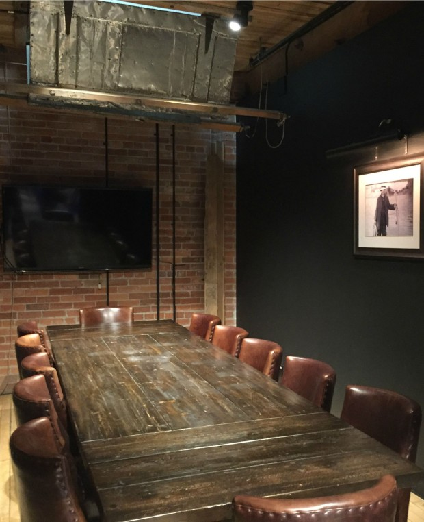 The butcher the baker the coffee maker take over the for Best private dining rooms calgary