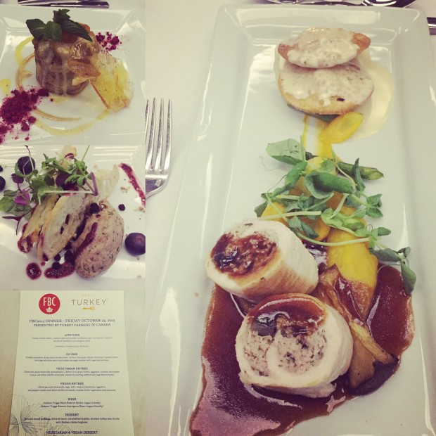 First dinner at FBC2015 Presented by TastyTurkey