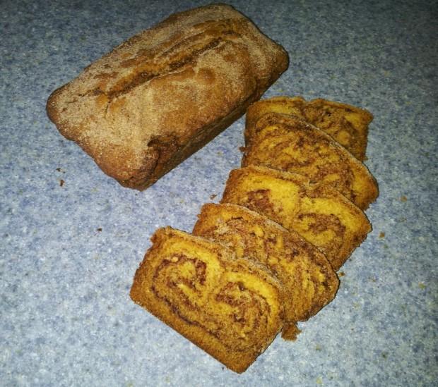Cinnamon No Knead Bread