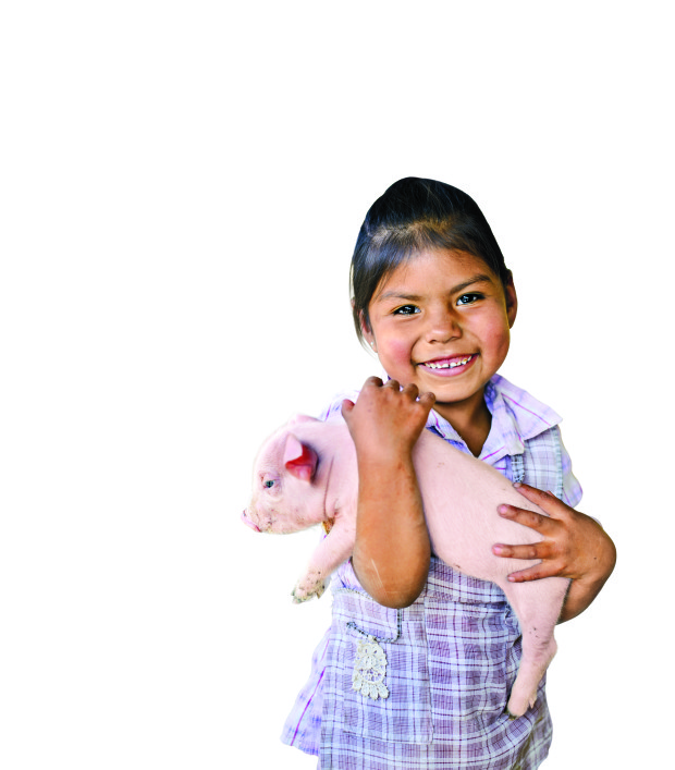 Viloma ADP - Family Who Received Gift Catalog Pigs