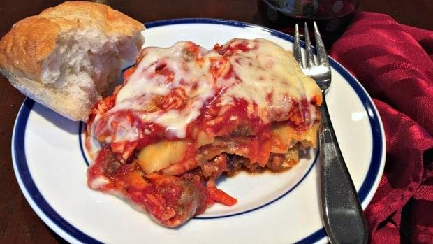 Delicious Crockpot Lasagna