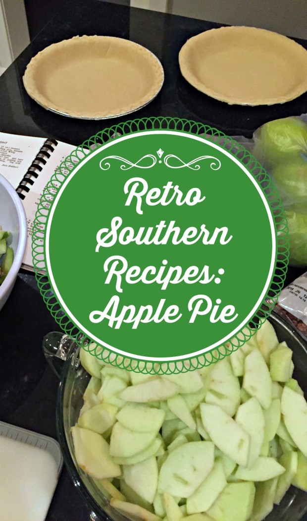 Retro Southern Recipes - Apple Pie