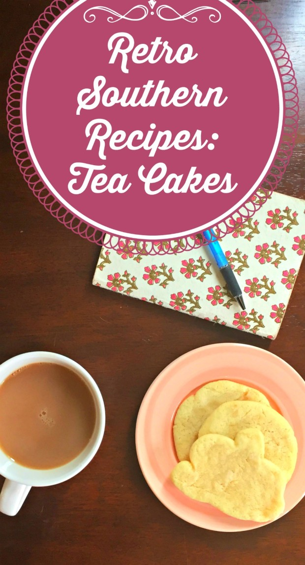 Retro Southern Recipes Tea Cakes