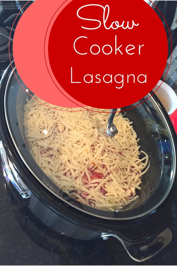 Delicious Slow Cooker Lasagna