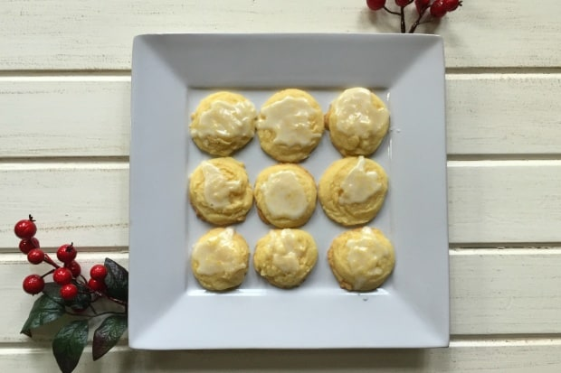 Sweet and Tangy Lemon Cookies