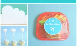 Airplane Party: Easy Food and Cupcakes