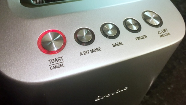 Breville Smart Toaster Controls