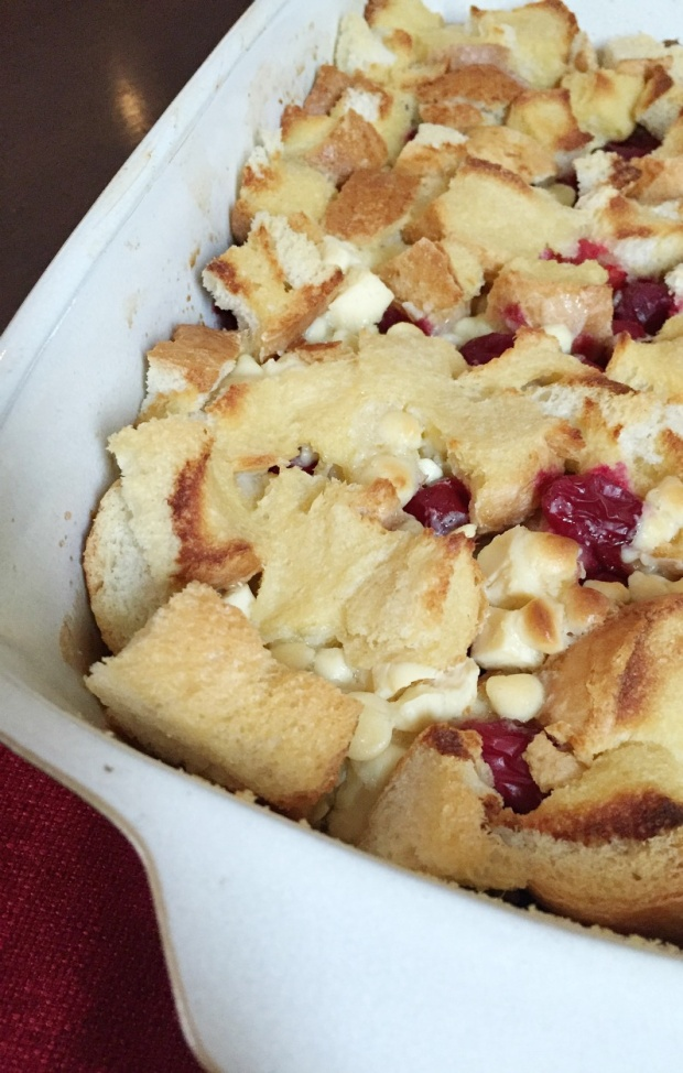 Cranberry Bliss French Toast Bake