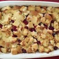 Cranberry Bliss Overnight French Toast Bake