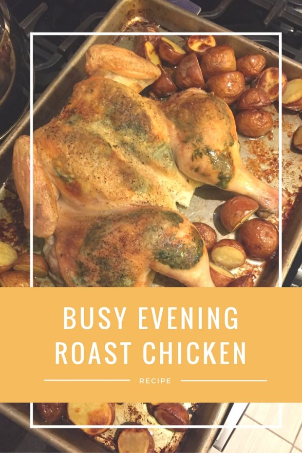 Busy Evening Roast Chicken
