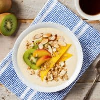 Coconut Chai Tropical Smoothie Bowl