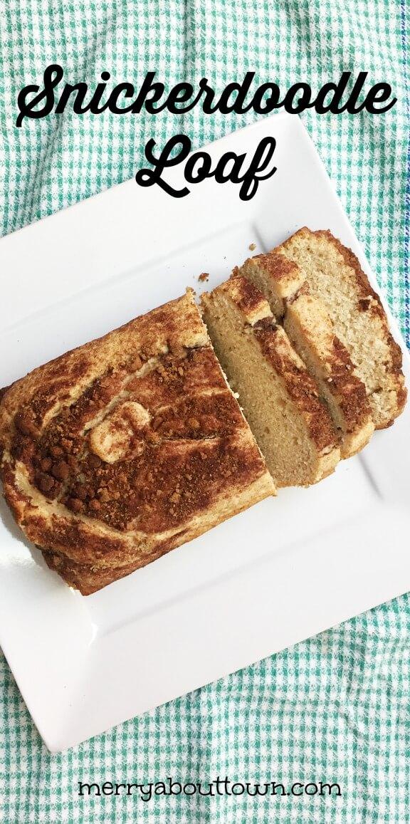 Snickerdoodle Loaf