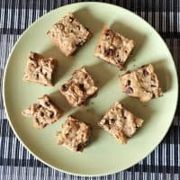 Chocolate Chip and Peanut Butter Squares