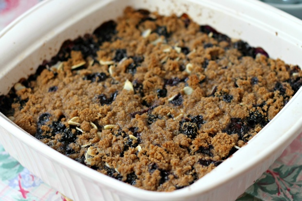 Blueberry pie baked oatmeal 3 S