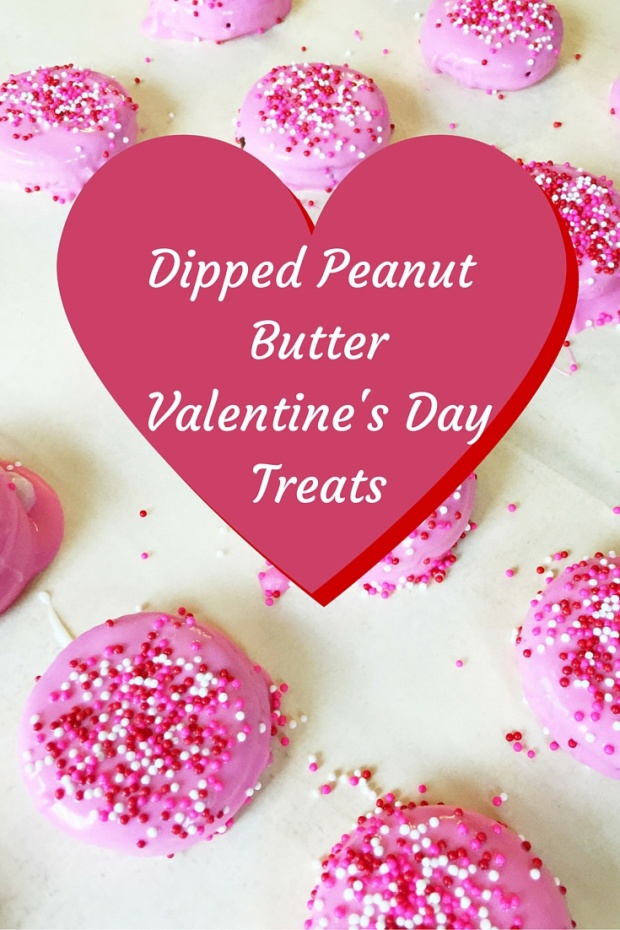 Dipped Peanut ButterValentine's DayTreats