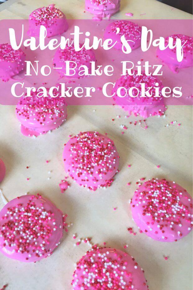 No-Bake Ritz Cracker Cookies