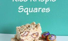 Creme Egg Rice Krispie Squares